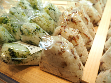 apanese voedsel onigiri rijstballetjes macro