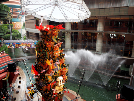 rijst: Hakata Gion Yamakasa Festival, Canal City shops