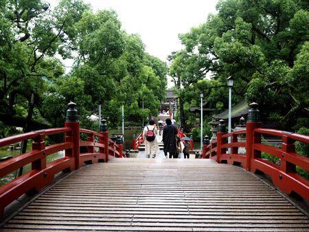 ponte giapponese: Troppo ponte giapponese a Kyushu, Dazaifu Tenmangu