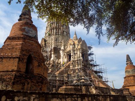 Wat Rat Burana, Ayutthaya, Thailand