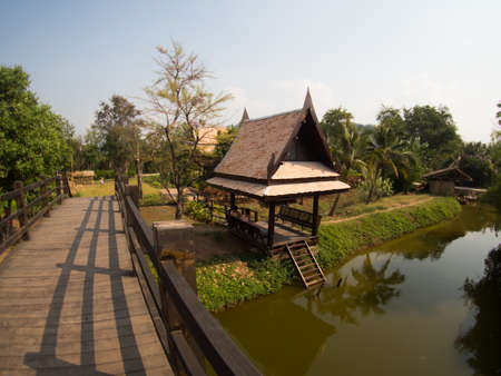 traditional Thai House style, Thailand