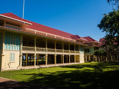 hua: Mrigadayavan Palace, Phetchaburi, Thailand Editorial