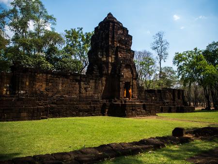 kanchanaburi: Ancient thai castle or Prasat Muang Singh in Kanjanaburi , Thailand.