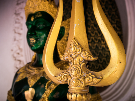 nakhon: The buddha image in Phra Pathom Chedi, Thailand.