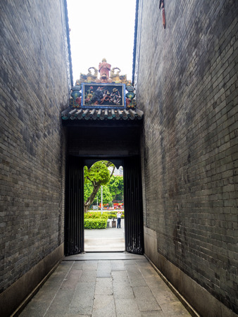 tang: chen-jia-ci, ancestral hall of Chen clan academy, CIRCA August 2017, Guangzhou, CHINA. Editorial