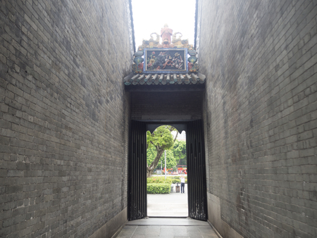 tang: chen-jia-ci, ancestral hall of Chen clan academy, CIRCA August 2017, Guangzhou, CHINA. Stock Photo
