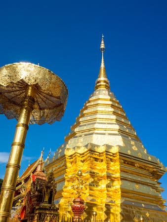 Wat Phrathat Doi Suthep Temple in Chiang Mai, Thailand