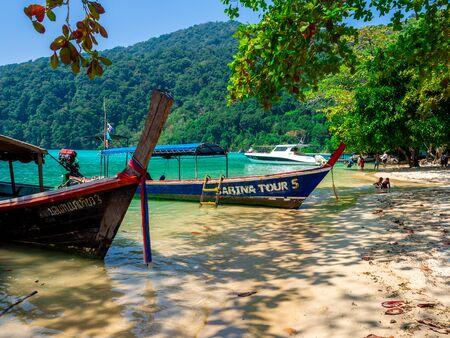 Mai Ngam Bay, Mu Koh Surin National Park, Phang-nga, Thailand : March 2019