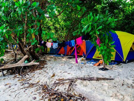 Mai Ngam Beach in Mu Koh Surin National Park, Phang-nga, Thailand : March 2019