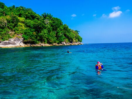 Surin Island or Mu Koh Surin National Park, Phang-nga, Thailand : March 2019