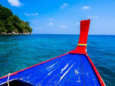 Tourist Boat to snorkeling at Surin Island, Thailand