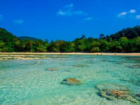 Mai Ngam Beach in Mu Koh Surin National Park, Phang-nga, Thailand