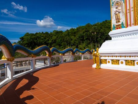Suwan Khiri Wong Temple or Patong Temple in city Patong on island Phuket, Thailand