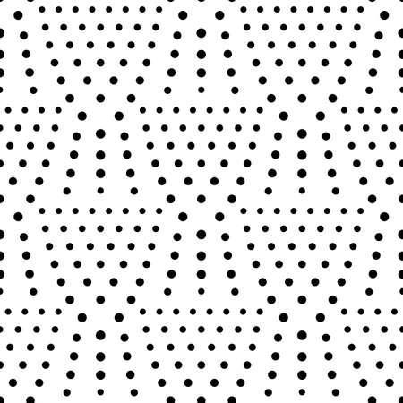 Seamless dot pattern, polka dot background, halftone. Vector white seamless texture