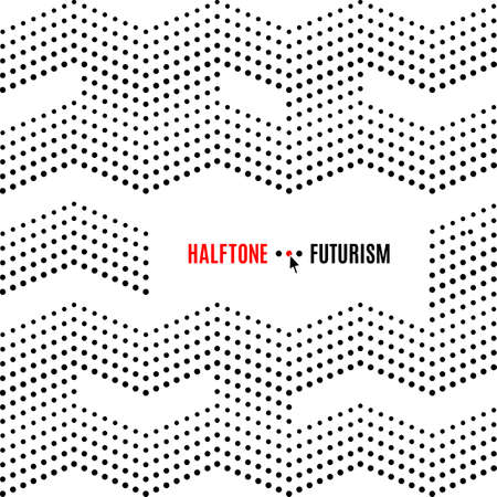 halftone cover: Dot background for banners, poster, cover, flyers, presentations, Web. Futuristic technology style halftone, black on white vector texture Illustration