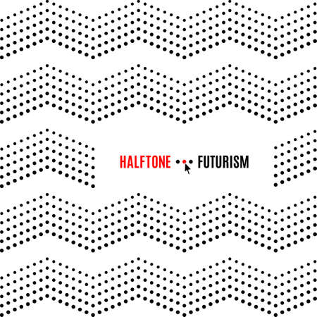 halftone cover: Dot background for banners, poster, cover, flyers, presentations, Web. Futuristic technology style halftone, black on white vector texture, place in the text