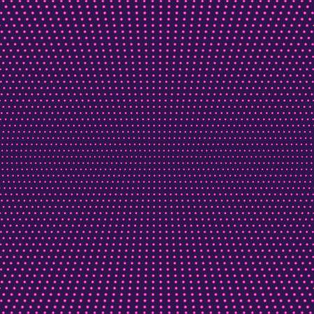 fuschia: Purple fuschia abstract background. Magenta minimal design of luminous points. Symmetrical light background, Vector illustration Illustration