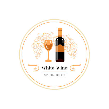 Red wine and grape line icon, Wine menu. Winemaking, tasting. Glass and bottle of red wine, bunch of grapes. Vector illustration 向量圖像