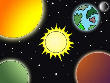 Planets Stock Photo - 5507629