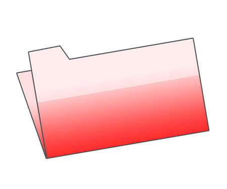 Red folder Stock Photo - 5507883