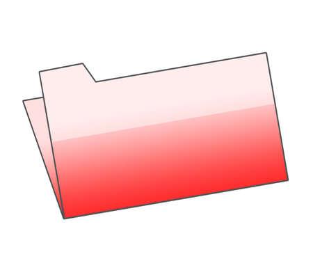 Red folder Stock Photo - 5507883