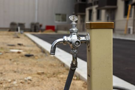 Simple tap for construction site