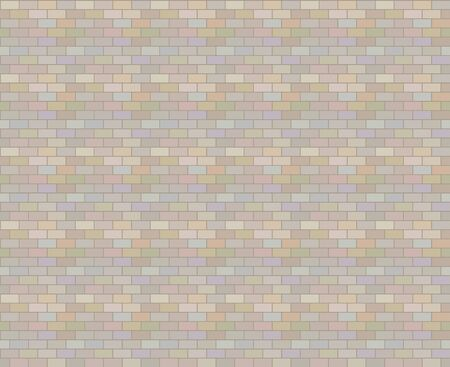 Multicolored blocks of muted colors seamless pattern background