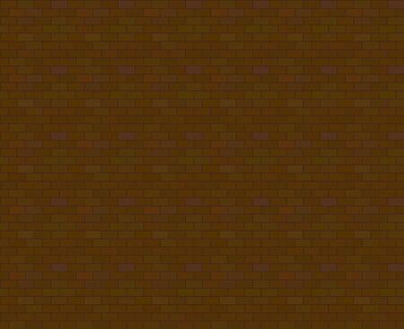 Block pattern-brown