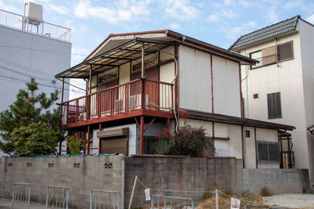 Old vacant house in Japan