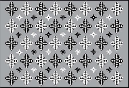 Dance Mat  - Pattern - Vector Drawing