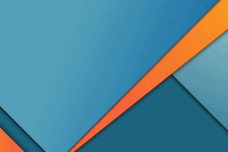 Illustration von ungewöhnlichen modernen Material-Design Vektor-Hintergrund Standard-Bild - 36242424