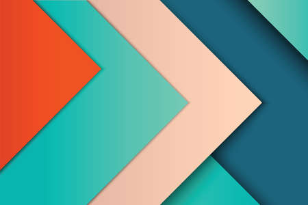 colours: Illustration of unusual modern material design vector background