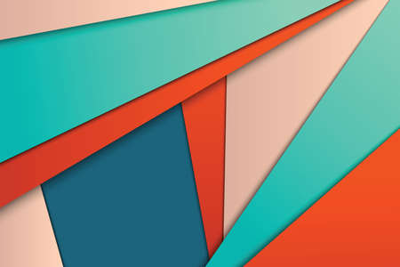 material: Illustration of unusual modern material design vector background