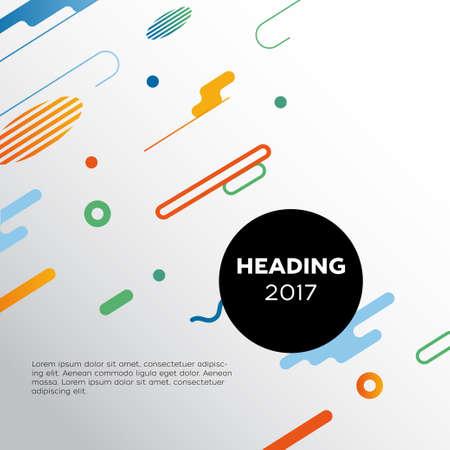 抽象的な背景 - ベクトル テンプレート イラスト