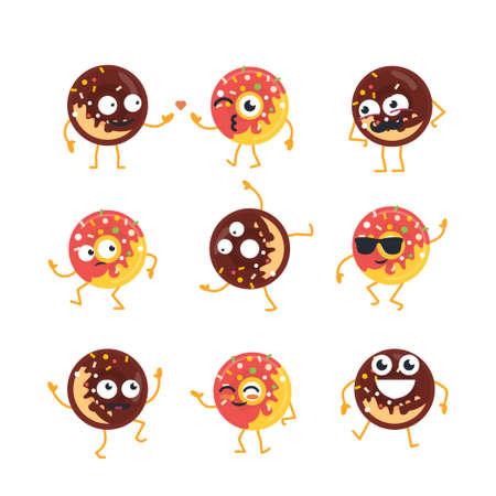 Donuts cartoon character.