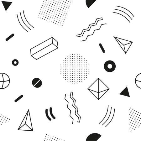 Abstract geometric pattern  イラスト・ベクター素材