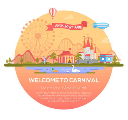 Welcome to carnival illustration.