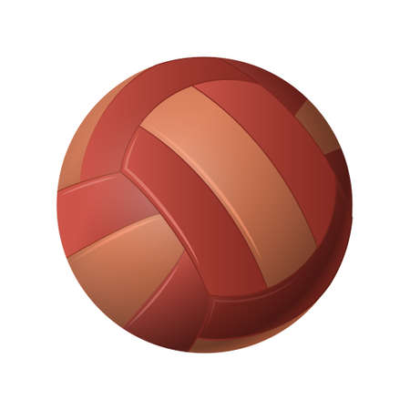 Volleyball - modern vector realistic isolated object