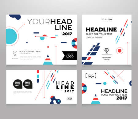 Corporate banner template.
