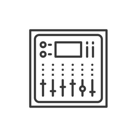 Sound board icon.