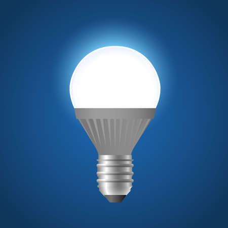 Glowing light bulb icon.