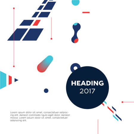 Abstract modern template illustration.