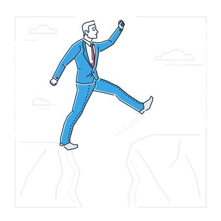 Cartoon man image illustration