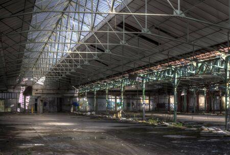 industrial wasteland: grenn stake hall