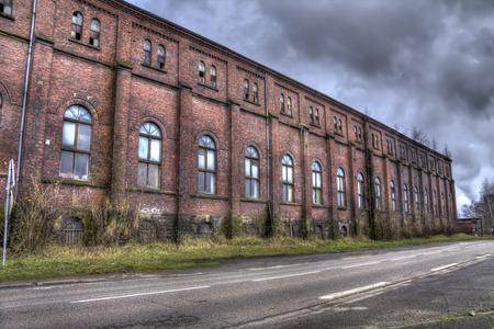 biggest red bricks mine pit building Moselle France