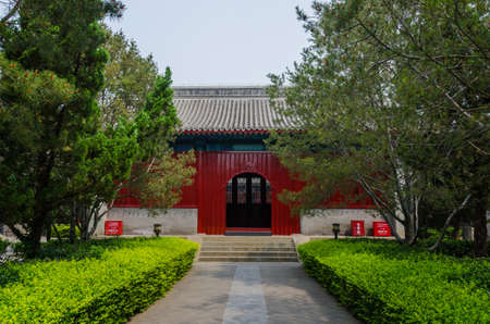 folk heritage: Great Bell Temple Beijing scenery