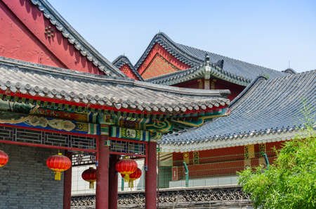 volumes: Beijing Grand View Garden volumes roof construction