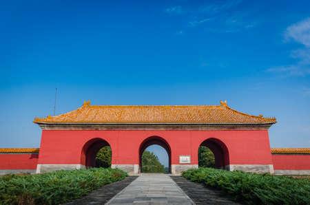 doorway: ancient doorway at china