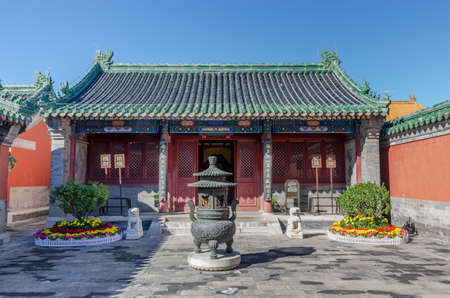 Guan Yu Temple in the imperial temple of the past dynasties Editorial