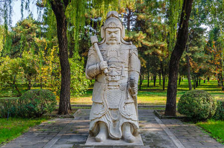 Ming Dynasty Tombs of hammer stone generals
